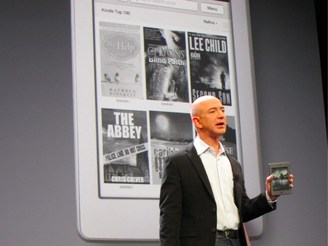 Bezos Kindle Touch