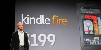 Amazon's $199 Kindle Fire costs $210 to build
