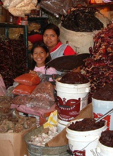 Pepper stall Mexico