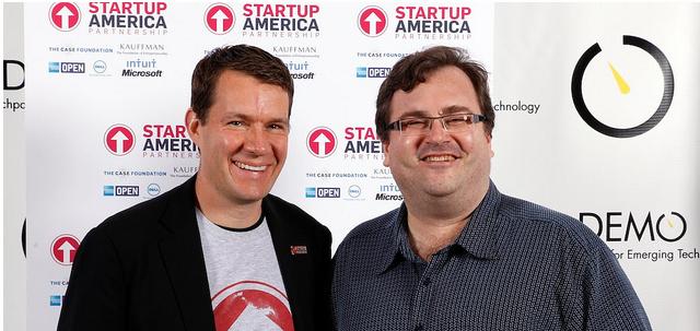 Scott Case of Startup America Partnership with Reid Hoffman, LinkedIn cofounder