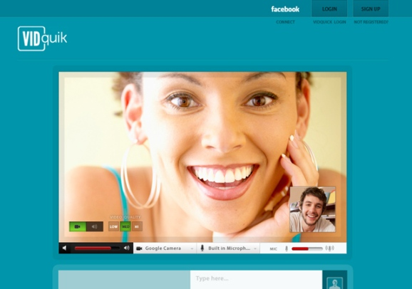 Vidquik Video Chat