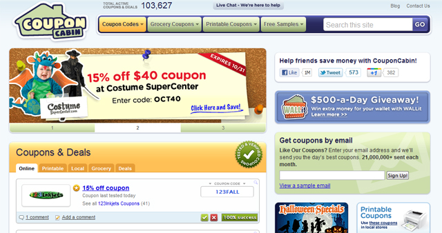 Captivating CouponCabin Funding
