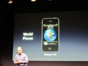 iPhone 4s will be a world phone