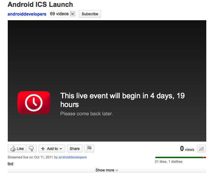 Android Launch