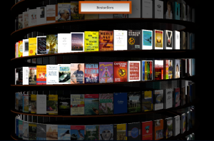Google Infinite Bookcase