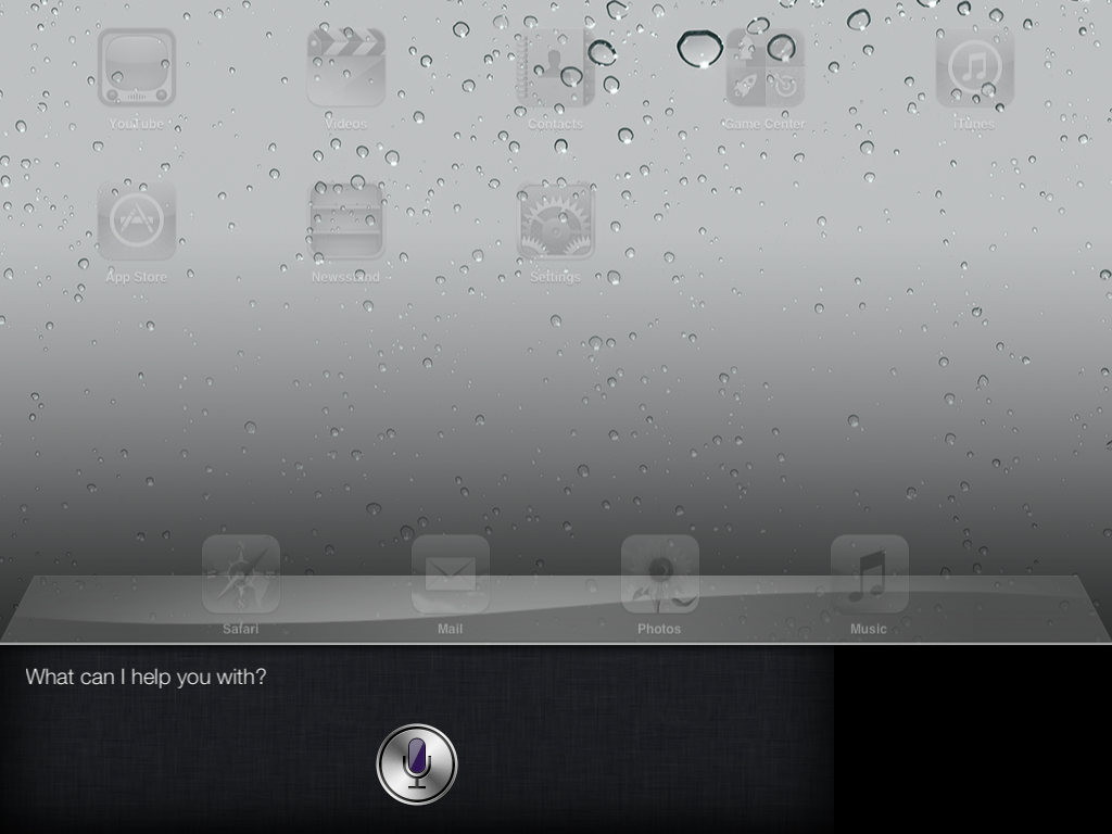 Siri on iPad