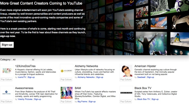 YouTube's original channels could be Google TV's killer app