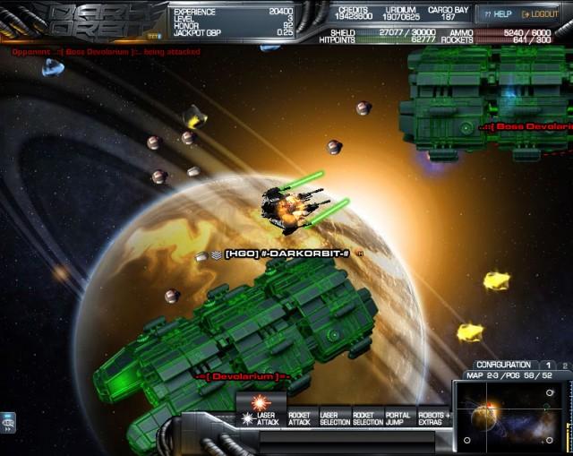 Over $1K for a virtual spaceship? 2000 Dark Orbit players