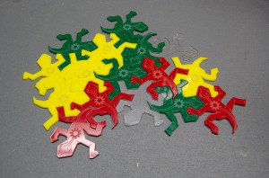 Escher Lizards Pattern Matching