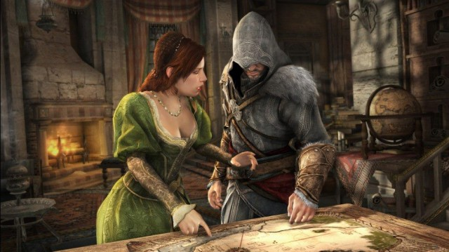 review ezio s not the only thing getting old in assassin s creed
