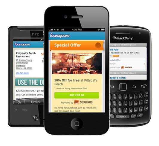 Foursquare + Scoutmob 2011-11