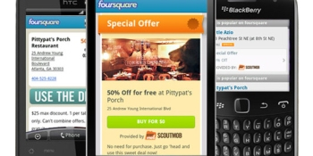 Hold onto your mustache! Foursquare gets Scoutmob location-based deals