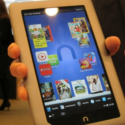 Hands-on with the Nook Tablet, and a chat with B&N's Nook