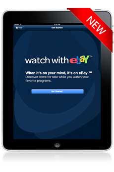 eBay, iPad app