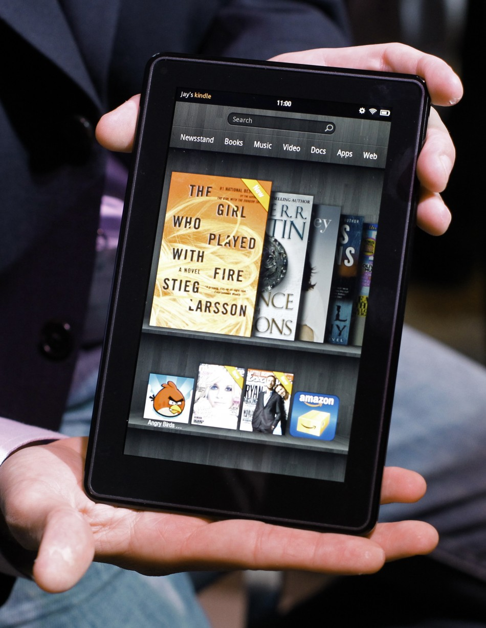 Amazon sells the Kindle Fire at a loss because it makes so