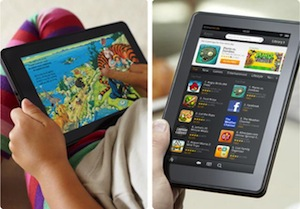Kindle fire with apps