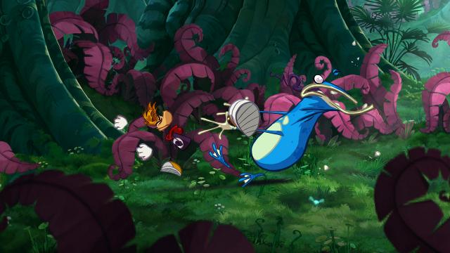 Rayman Origins Header