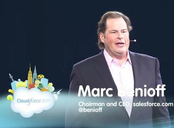 salesforce, Marc Benioff