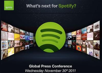 Spotify invite