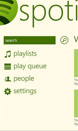 Spotify-WP7