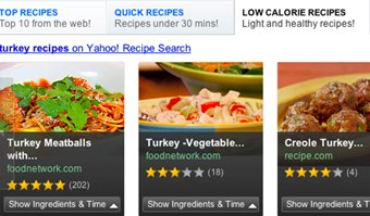 Yahoo launches interactive recipe shopping and entertainment search yahoo launches interactive recipe shopping and entertainment search tools forumfinder Gallery