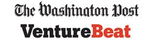 VentureBeat and Washington Post logos