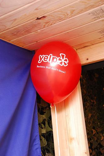 yelp balloon