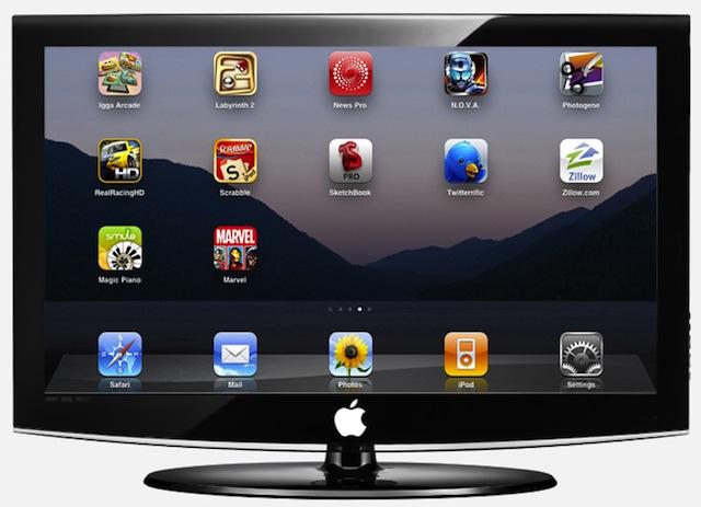 Apple iTV (artist's conception)