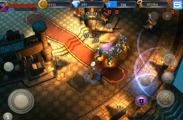 Gameloft is filling the App Store with mobile games like Dungeon