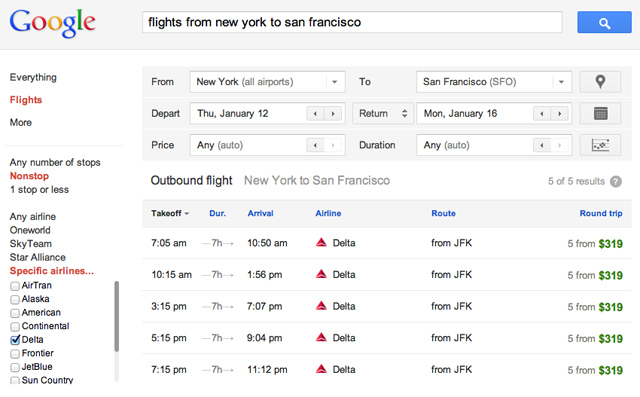 ITA Matrix Software by Google - Flight Search Tips and Tricks