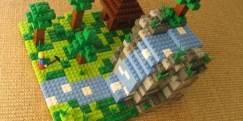 Hands up for Lego Minecraft