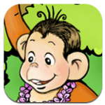 The Monkey and the Crocodile app icon
