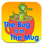 The Bug is in the Mug app icon