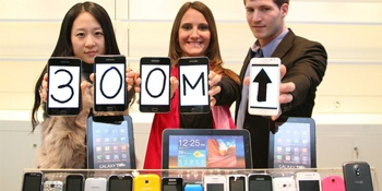 Samsung sold more than 300M phones in 2011