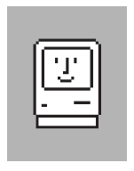 """Susan Kare's """"Happy Mac"""" icon"""