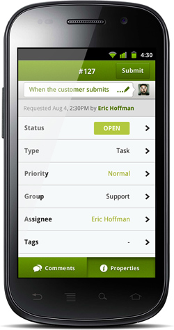 Customer Help Desk Management Startup Zendesk Has Launched A New Version Of Its Android That Includes Design Real Time Updates Photo Attachment