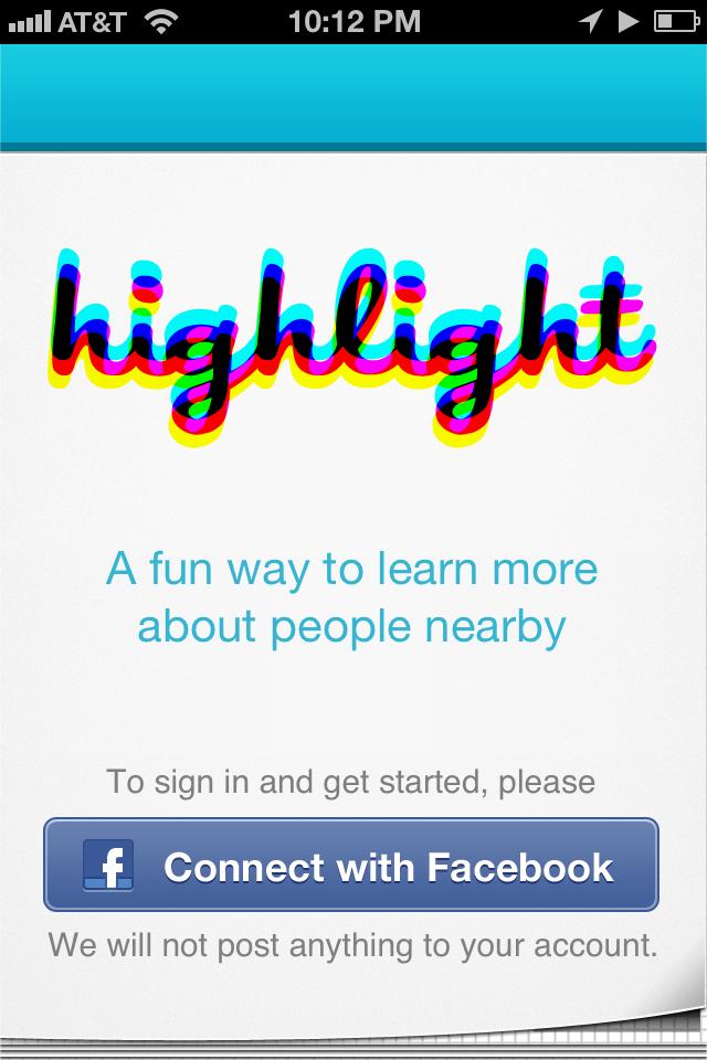 Highlight Login