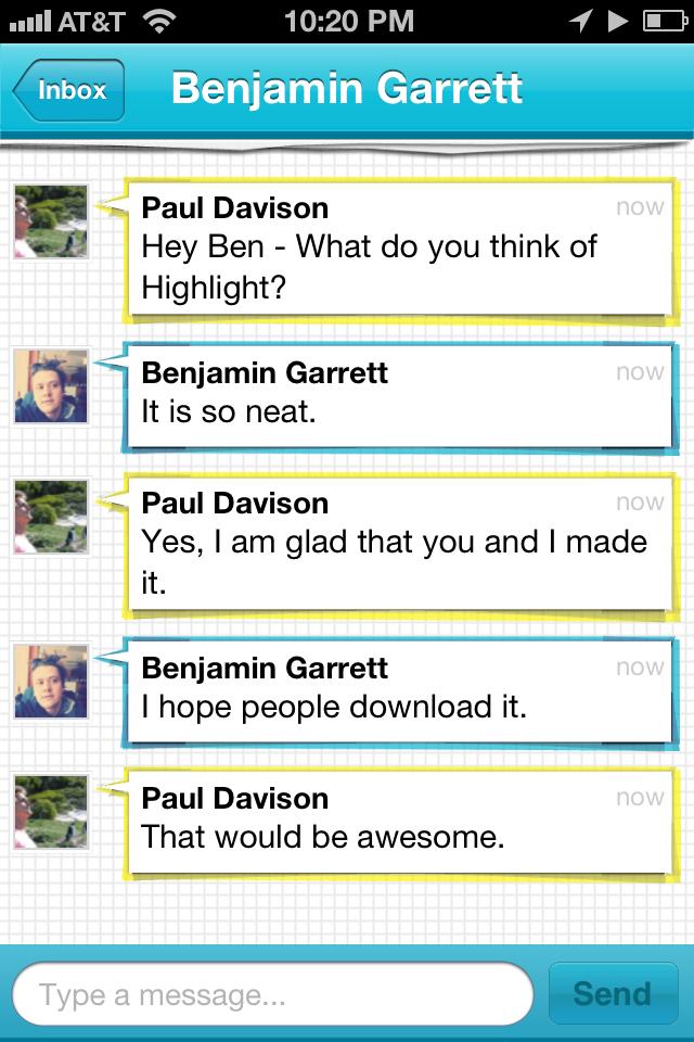 Highlight Messaging