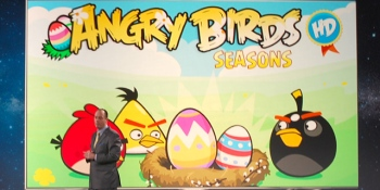 Angry Birds game and TV show are coming to Samsung's Smart TVs