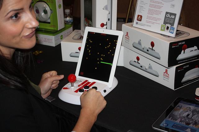 Atari iPad controller at CES 2012