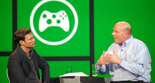 Steve Ballmer and Ryan Seacrest talk Xbox