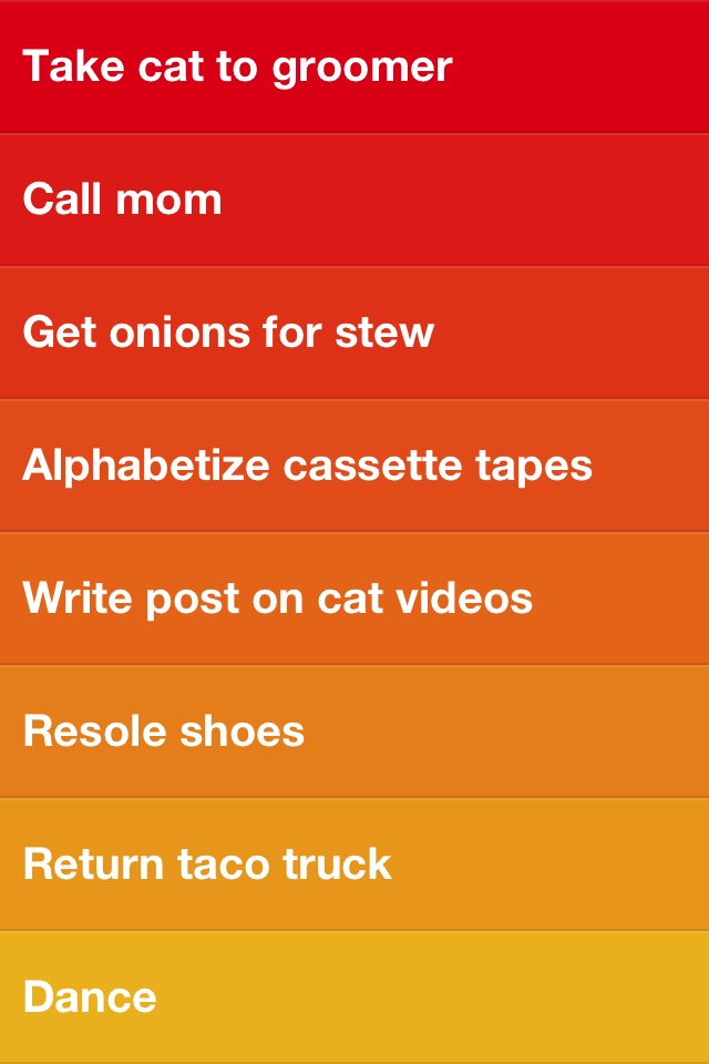 New to-do list app Clear simplifies and color-codes