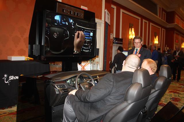 Cadillac's CUE car system