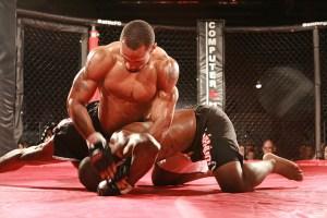 Martial artist takedown