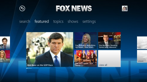 Fox News Xbox Video Player