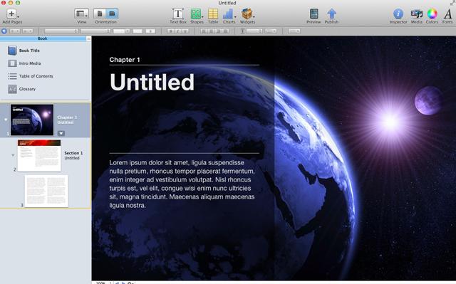 iBooks Author: Apple brings the magic of Keynote to e-books