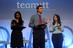 Teamitt's founding team