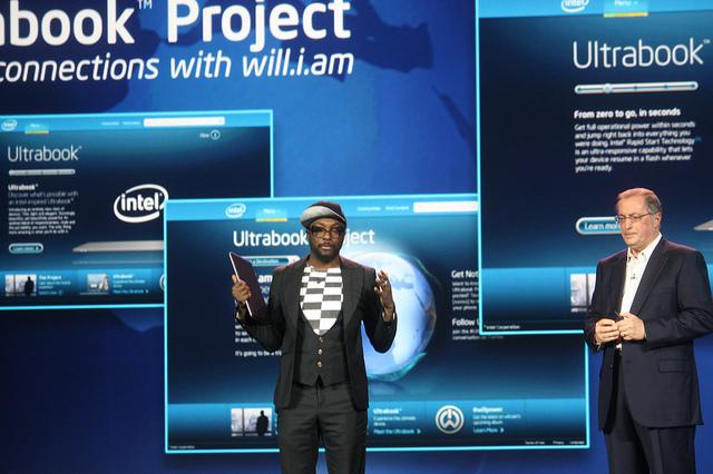 Will.i.am, Intel Ultrabook