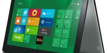 Hands on with Lenovo's IdeaPad Yoga, a Windows 8 laptop/tablet hybrid (video)