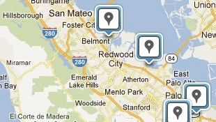 Foursquare familiarizes the unknown, adds nearby locations to business pages